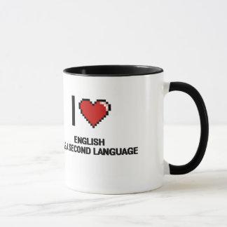 Amo inglés como segundo diseño de Digitaces de la Taza