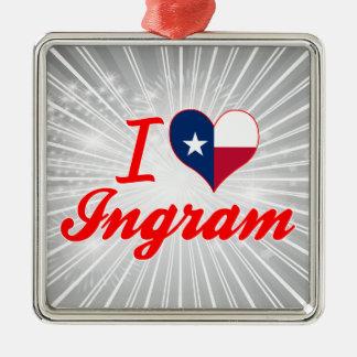 Amo Ingram, Tejas Ornamento De Navidad