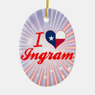 Amo Ingram, Tejas Adorno De Navidad
