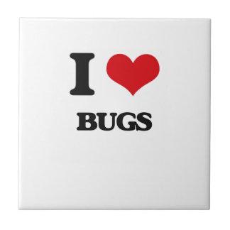 Amo insectos tejas  ceramicas