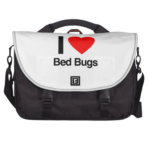 amo insectos de cama bolsa de ordenador