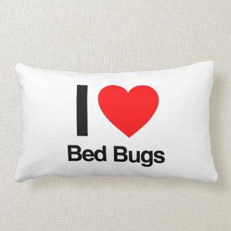 amo insectos de cama almohada