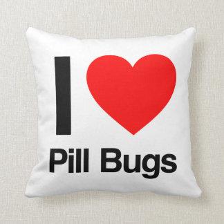 amo insectos de píldora cojines