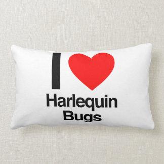 amo insectos del harlequin cojin