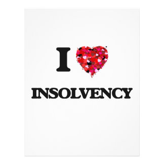 "Amo insolvencia folleto 8.5"" x 11"""