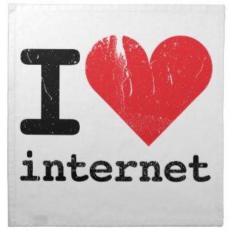 Amo Internet Servilletas