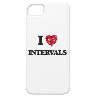 Amo intervalos iPhone 5 carcasas