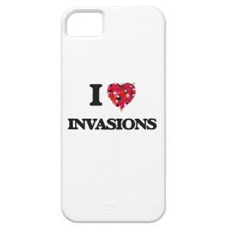 Amo invasiones iPhone 5 fundas