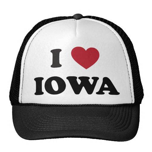 Amo Iowa Gorros