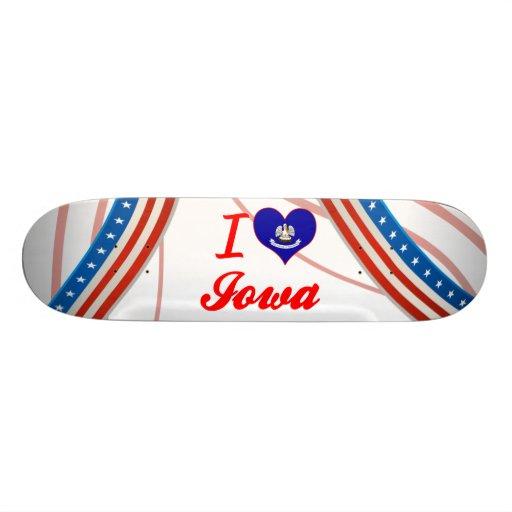 Amo Iowa, Luisiana Patinetas Personalizadas