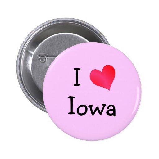 Amo Iowa Pins