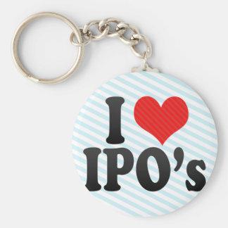 Amo IPO Llavero Personalizado