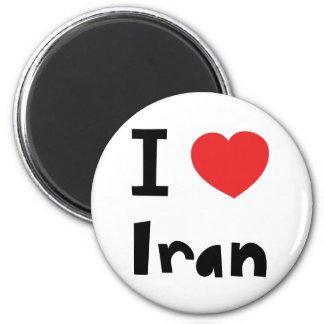 Amo Irán Imán Redondo 5 Cm