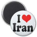 Amo Irán Imanes De Nevera