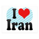 Amo Irán Postales