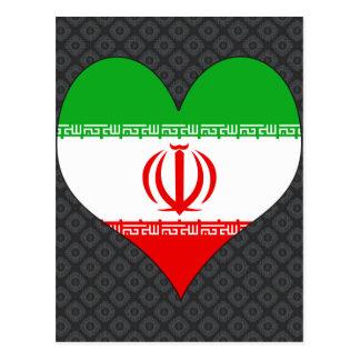 Amo Irán Tarjetas Postales