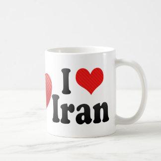 Amo Irán Taza De Café