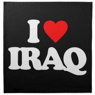 AMO IRAQ SERVILLETAS DE PAPEL