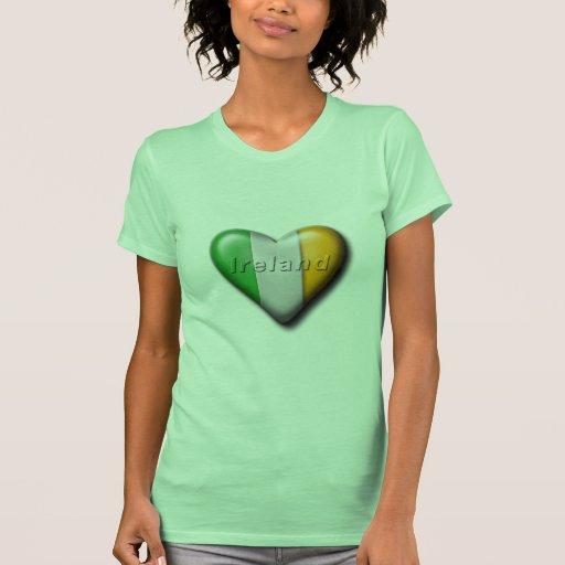 Amo Irlanda Camiseta