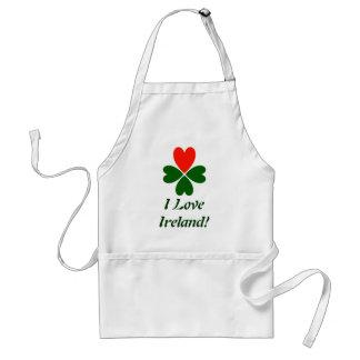 Amo Irlanda Delantales