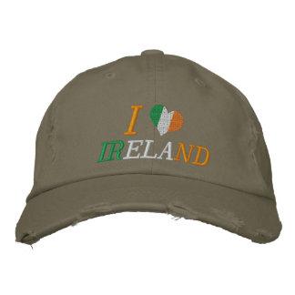 Amo Irlanda Gorra De Béisbol Bordada