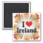 Amo Irlanda Imanes De Nevera