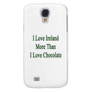 Amo Irlanda más que el chocolate del amor de I
