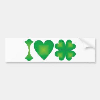 Amo Irlanda Pegatina Para Auto