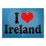 Amo Irlanda Tarjeta