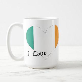 Amo Irlanda Taza