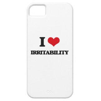 Amo irritabilidad iPhone 5 carcasas