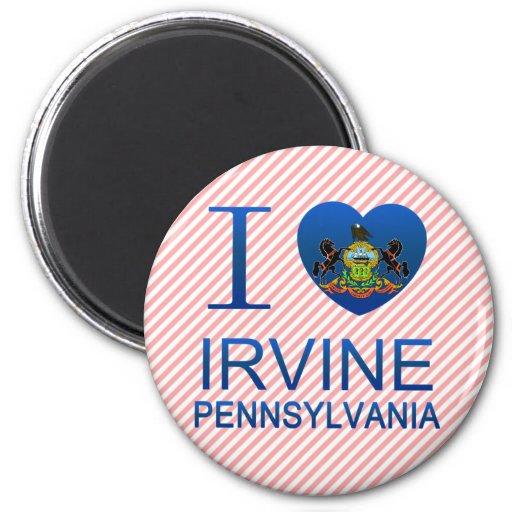 Amo Irvine, PA Imán Para Frigorífico