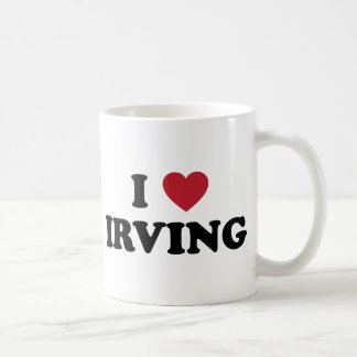 Amo Irving Tejas Taza Clásica