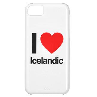 amo islandés funda para iPhone 5C