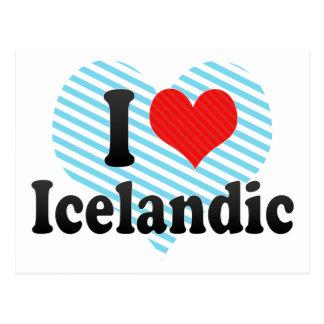 Amo islandés postales
