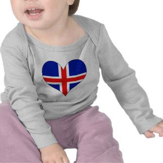 Amo Islandia Camiseta