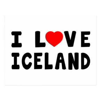 Amo Islandia Postales