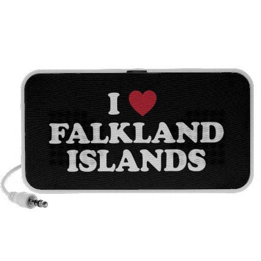 Amo Islas Malvinas Notebook Altavoces