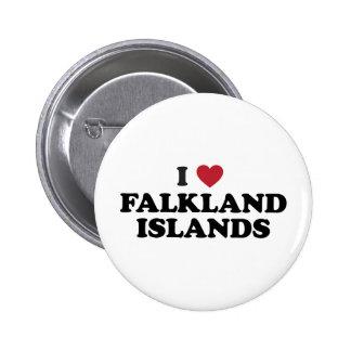 Amo Islas Malvinas Pin Redondo De 2 Pulgadas