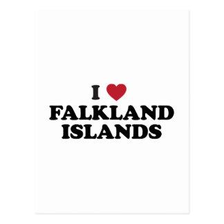 Amo Islas Malvinas Postal