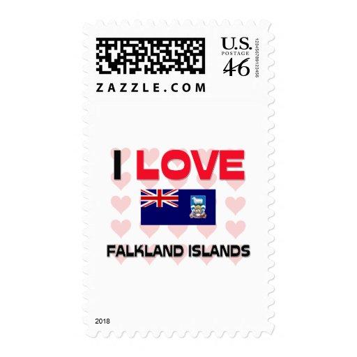 Amo Islas Malvinas Sellos