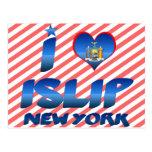 Amo Islip, Nueva York Postales