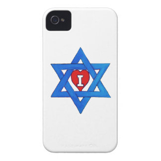 ¡AMO ISRAEL! Case-Mate iPhone 4 CÁRCASAS