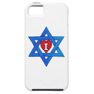 ¡AMO ISRAEL! FUNDA PARA iPhone 5 TOUGH
