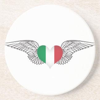 Amo Italia - alas Posavasos Para Bebidas