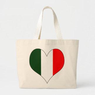 Amo Italia Bolsa Tela Grande