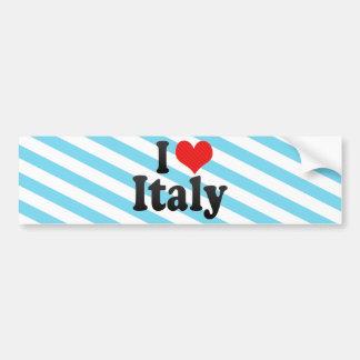 Amo Italia Pegatina De Parachoque