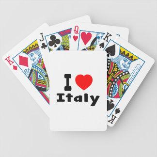 Amo Italia Baraja Cartas De Poker