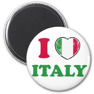 Amo Italia Imán Redondo 5 Cm