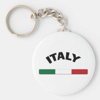 Amo Italia Llavero Redondo Tipo Pin